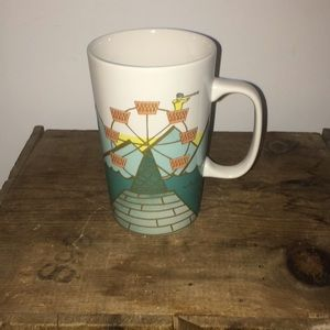 Starbucks Ferris wheel tall coffee mug